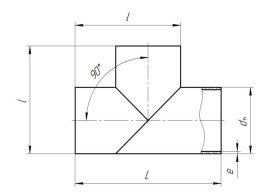Тройник-прямой